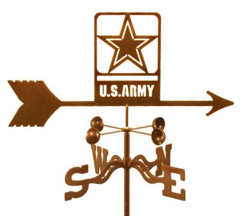 weathervane-of-new-army-emblem