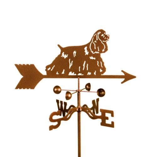 Cocker Spaniel weathervane