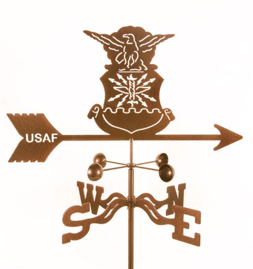 weathervane-of-air-force-v-emblem