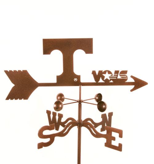 Tennessee Volunteers College Team Logo Weathervane