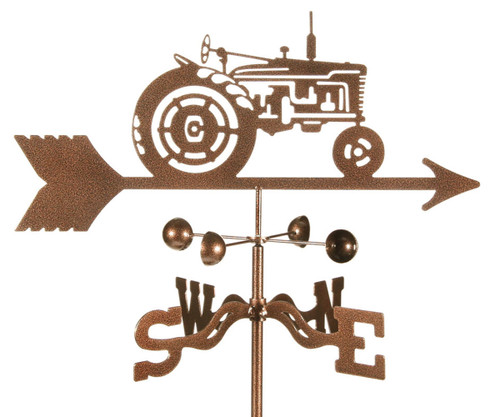 Tractor weather vane
