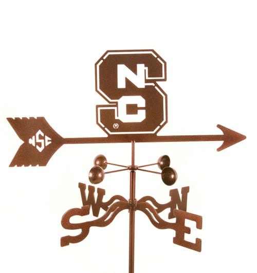 NC State Wolfpack College Team Logo Weathervane