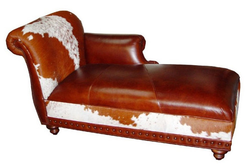 Country Western Ponderosa Chaise Lounge