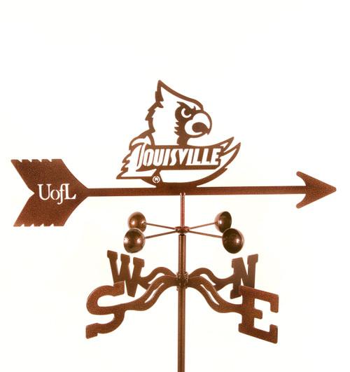 Louisville Cardinals College Team Logo Weathervanes