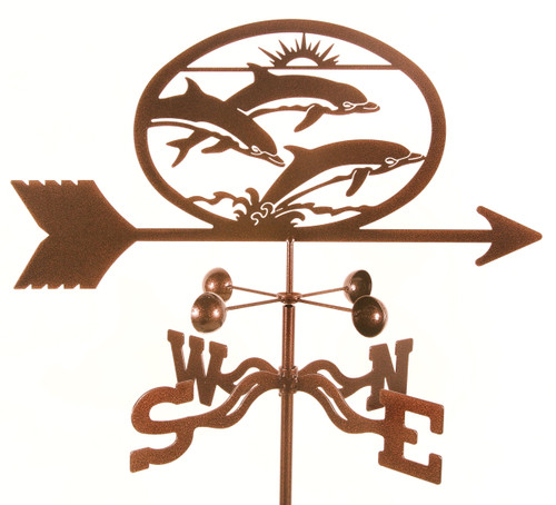 Weathervane with Dolphins
