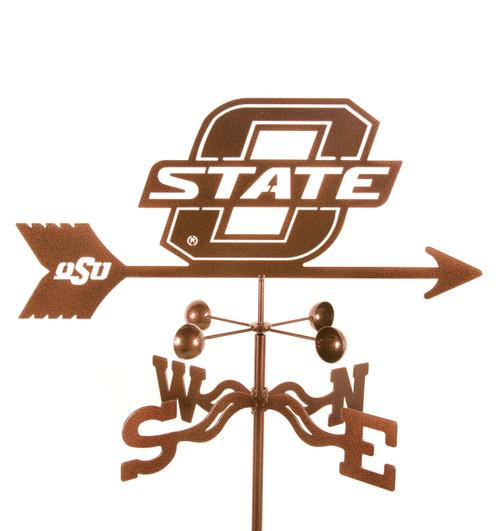 OSU, Oklahoma State Cowboys College Team Logo Weathervane