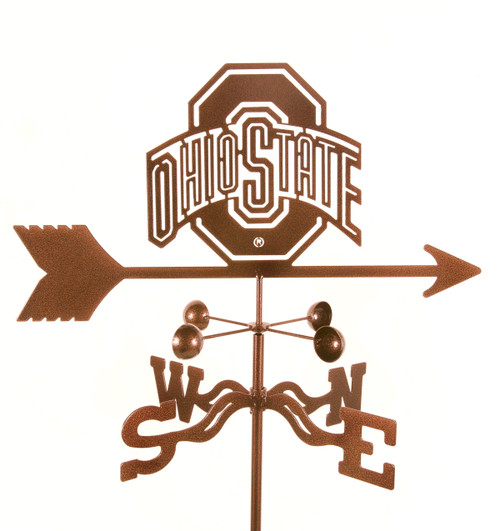 Ohio State College Team Logo Weathervane
