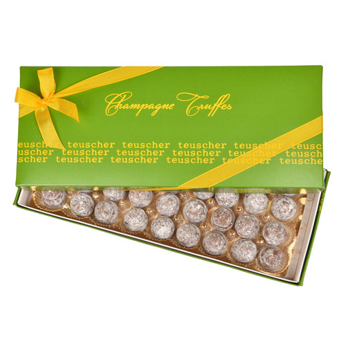 Dark Champagne Truffles - 36 pieces