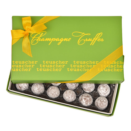 Dark Champagne Truffles - 24 pieces