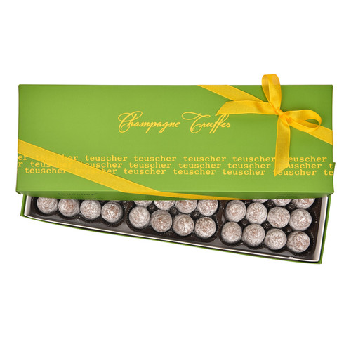 Dark Champagne Truffles - 48 pieces
