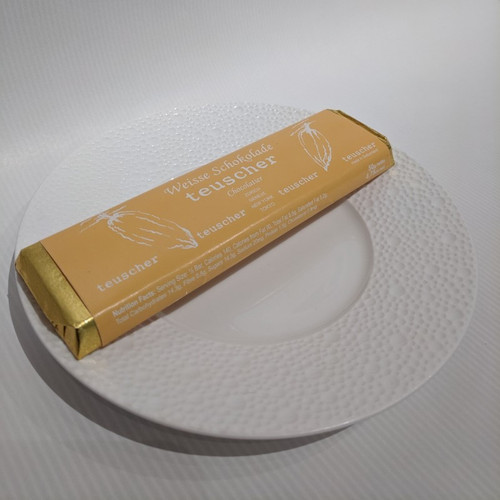 50g Chocolate Bar - Plain White