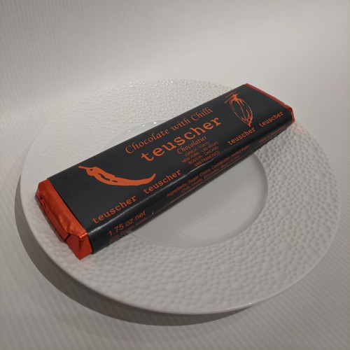 50g Chocolate Bar - Dark with Chilli