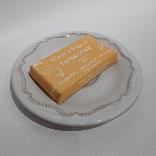 25g Chocolate Bar - Plain White