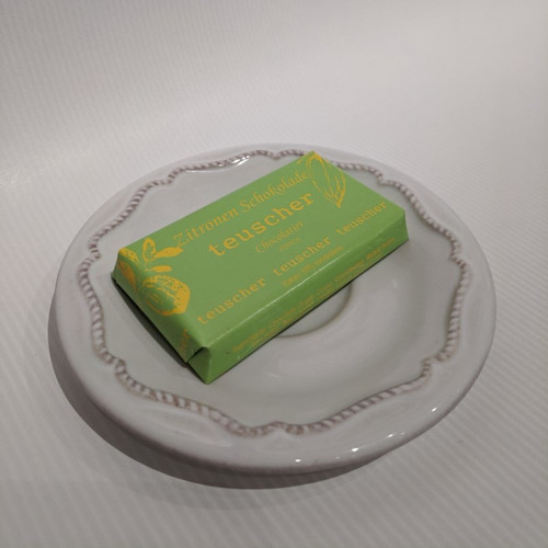 25g Chocolate Bar - Dark with Lemon