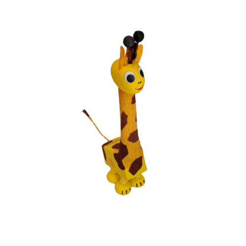 Giraffe with 2 Truffles