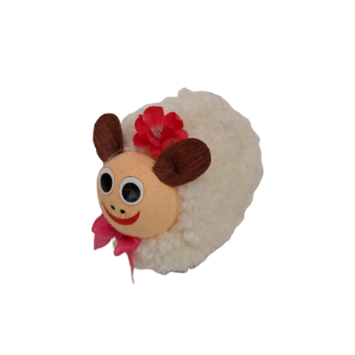 Sheep Dolly with 2 Truffles
