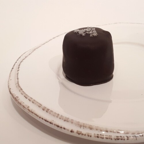 Dark Salted Caramel Truffle