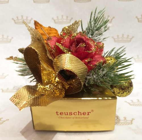 Xmas Flower 4 Pieces Box