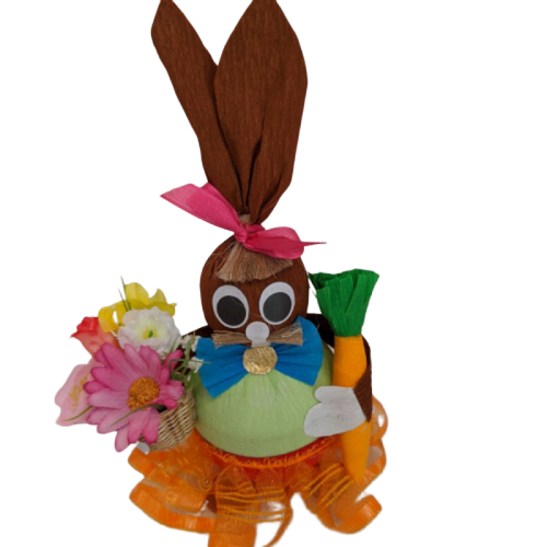 Easter Girl Bunny with 12 Truffles
