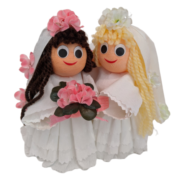 Bride and Bride with 2 truffles