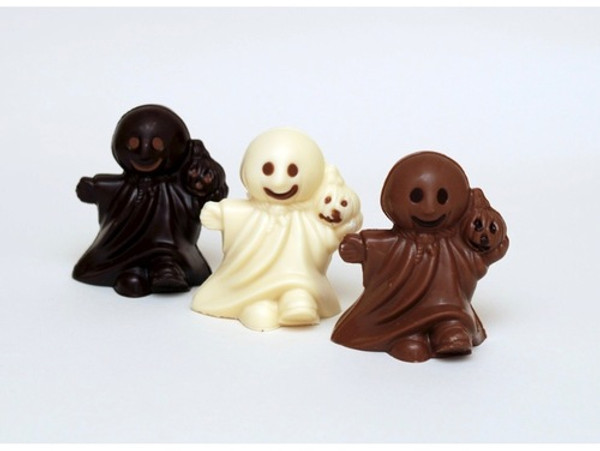 Ghost  Milk  Chocolate  in  cello  bag