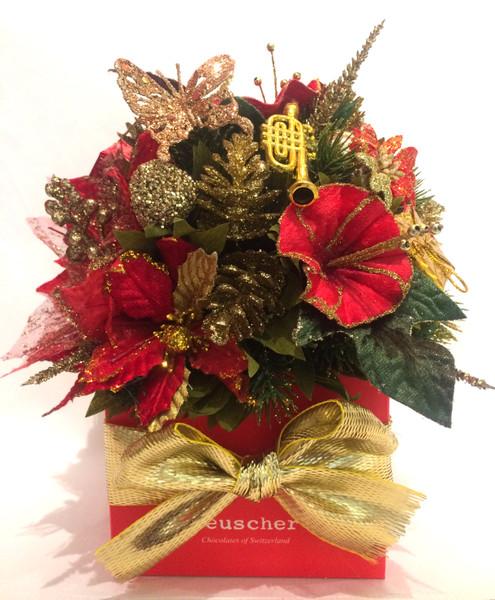 Xmas Flower with 27 truffles