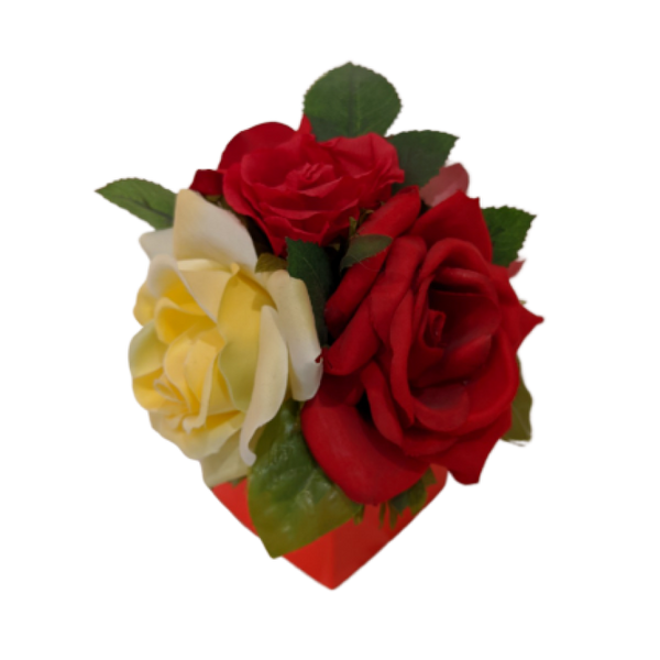 Fantasy Flower Roses 8 Piece Box