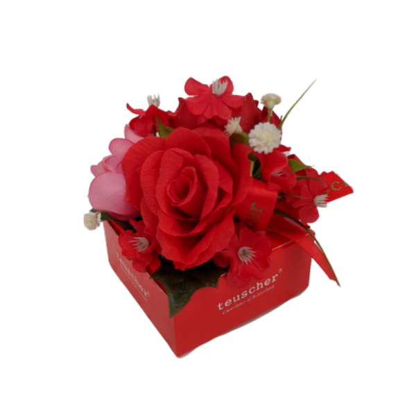 Fantasy Flower Roses 4 Pieces Box