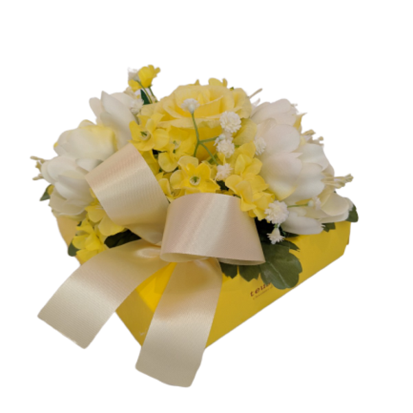 Fantasy Flower Yellow 16 Pieces Box