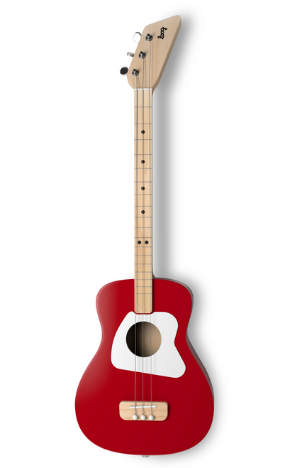 Loog Pro Acoustic Guitar 8+ Red