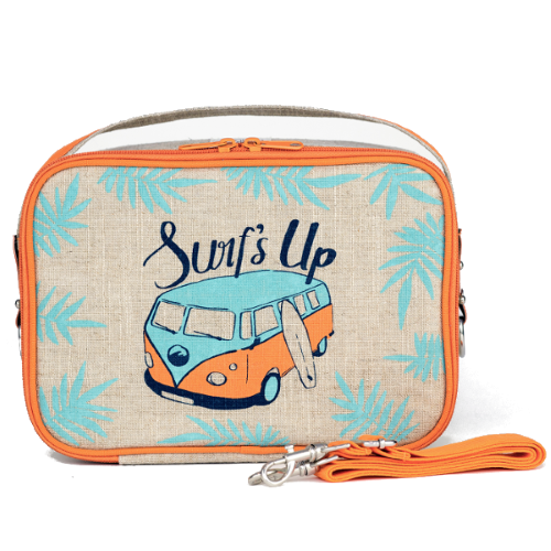 Insulated Lunch Bag Box Surf's