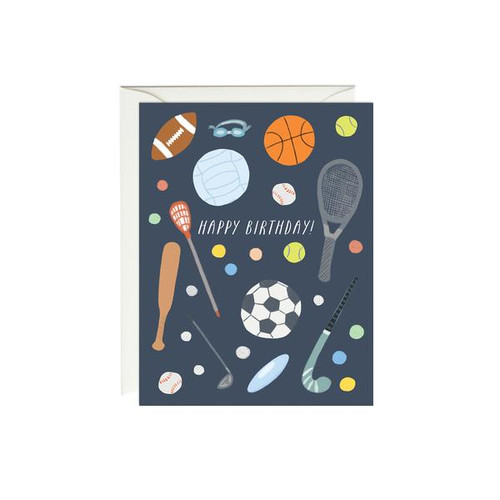 Birthday Card Sports