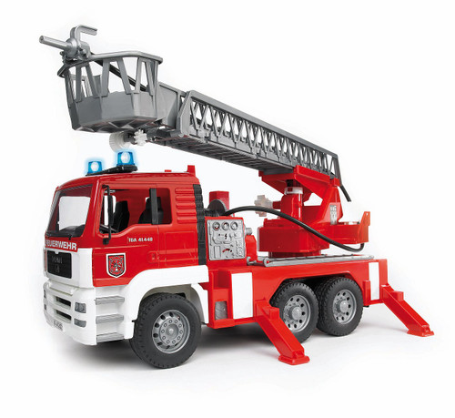 MAN TGA Fire Engine with Ladder Water Pump, Light/Sound Module