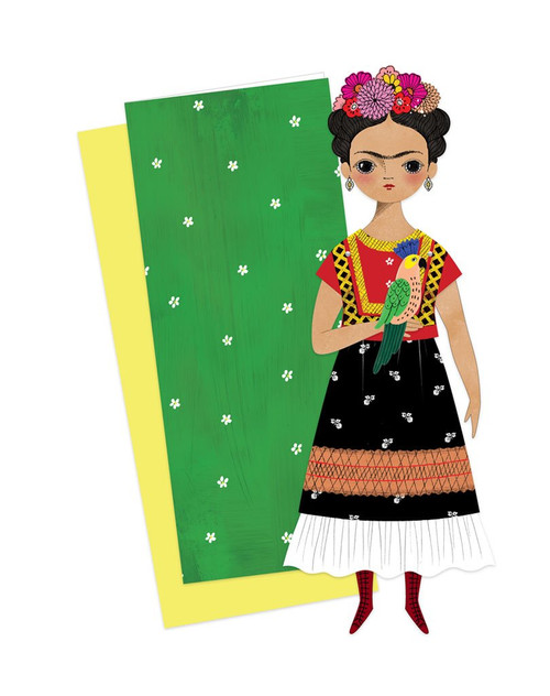 Mailable Paper Doll Card Frida
