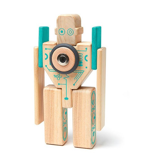 Magbot  Magnetic Wooden Blocks