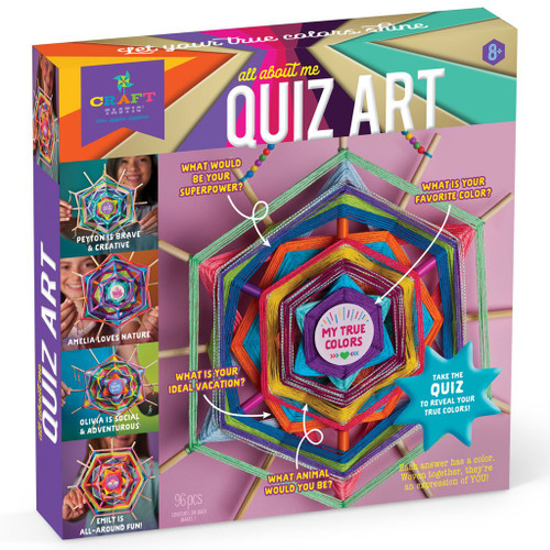 Quiz Art Kit- All about me