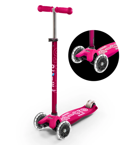 Maxi Deluxe LED Ages 5-12 Pink