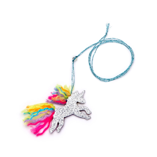 Mini Craft Unicorn Necklace
