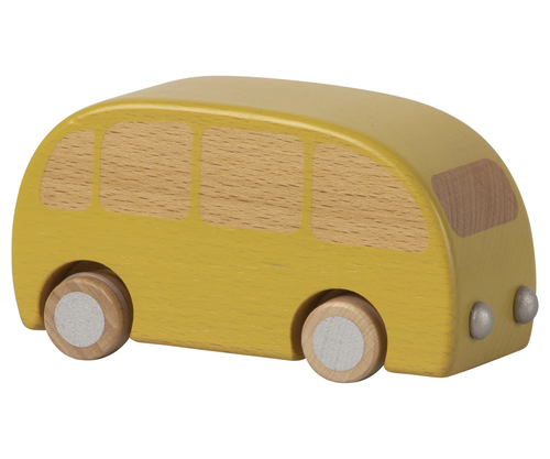 Pullback Wooden Bus