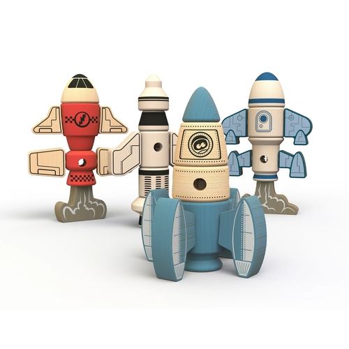 Tinker Totter Rockets Playset