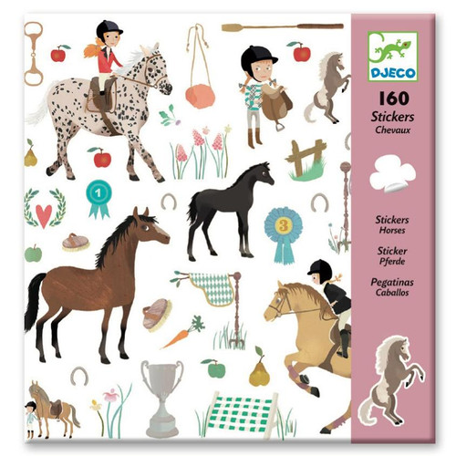 160 Stickers Chevaux/ Horse