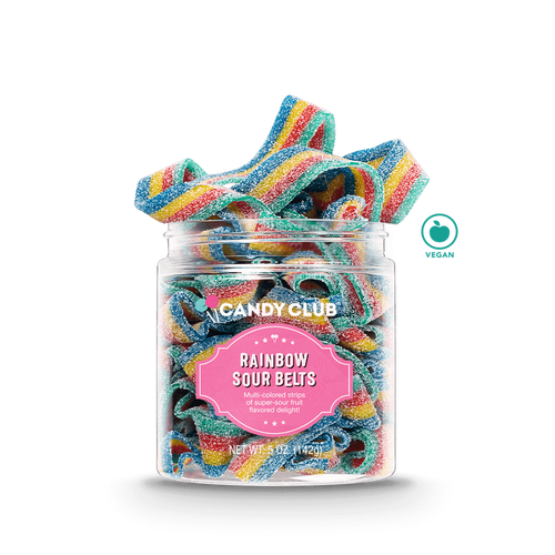Candy Club -Rainbow Sour Belts