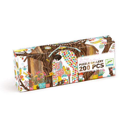 Gallery Puzzle 200 pcs Treehouse