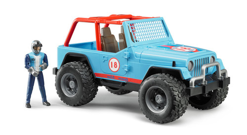 Jeep Cross Country Racer W/ Driver