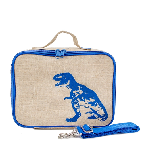 Blue Dino Lunch Box for Kids