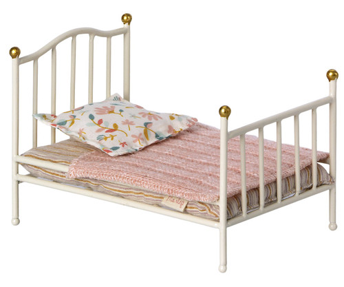 Vintage Bed, Mouse Off White