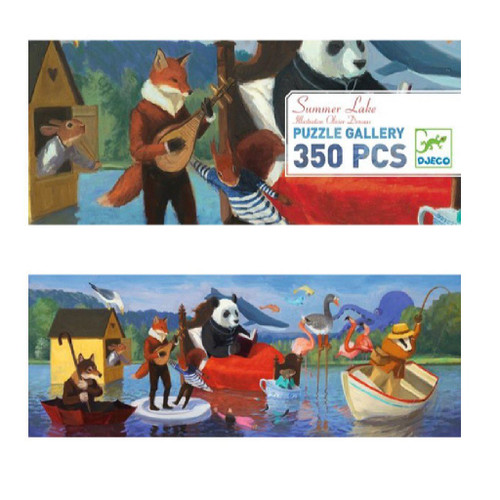 Gallery Puzzle 350pcs Summer Lake