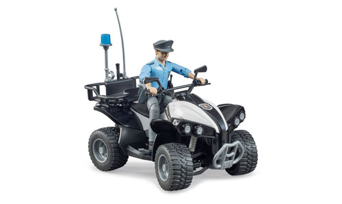 Police Quad With Policeman & Accessories