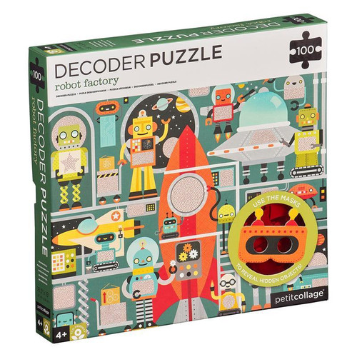 Decoder Puzzle 100pc Robot Factory