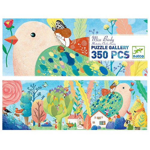 Gallery Puzzle 350pcs Miss Birdy